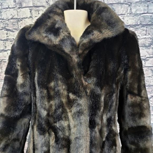 Vintage Jackets & Blazers - Vintage Sporttowne Full Length Faux Fur, Size 10